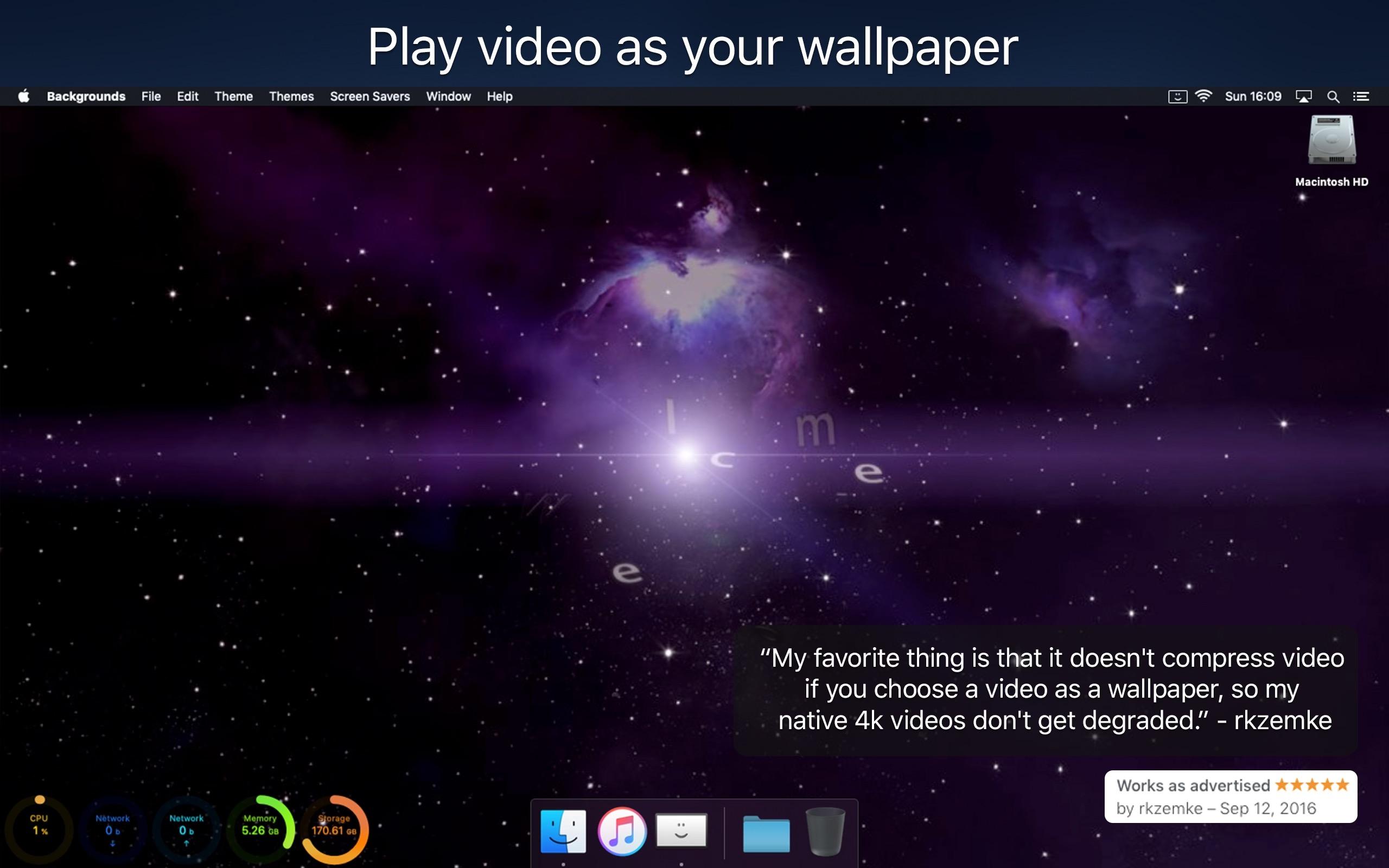 Backgrounds 9.2.1 Mac 破解版 桌面增强和美化工具